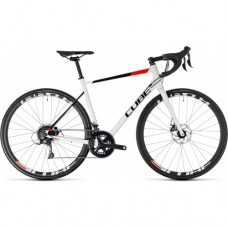 CUBE ATTAIN PRO DISC WHITE 'n' RED 2018