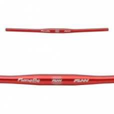FUN FLAME PG 31.8MM Rise 0mm x 710mm x 9° Red